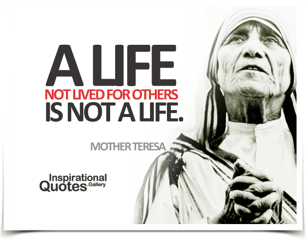 Life Quotes Mother Teresa Brilliant Mother Teresa Quotes  Inspirationalquotes.gallery